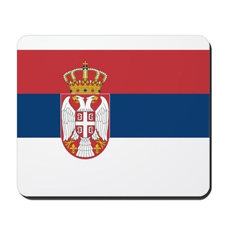 Serbia Mousepad