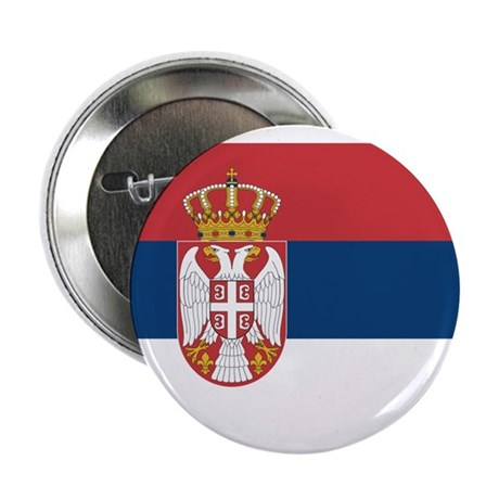 """Serbia 2.25"""" Button (10 pack)"""