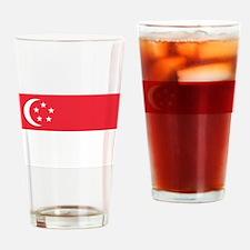 Singapore Drinking Glass