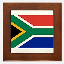 South Africa Framed Tile