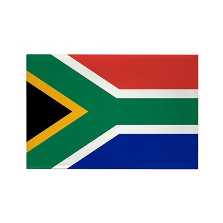 South Africa Rectangle Magnet (10 pack)