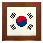 South Korea Framed Tile
