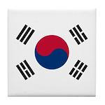 South Korea Tile Coaster