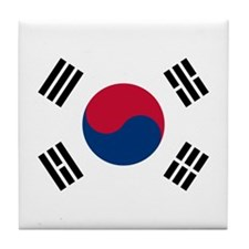 South Korea Tile Coaster