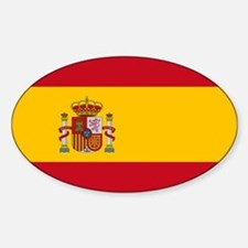 Spain Sticker (Oval)
