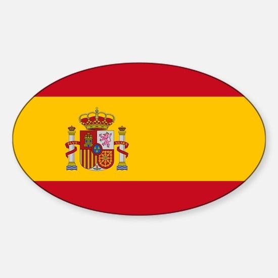 Spain Sticker (Oval)
