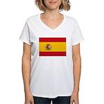 Spain Women's V-Neck T-Shirt
