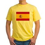 Spain Yellow T-Shirt