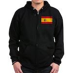 Spain Zip Hoodie (dark)