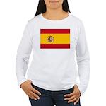 Spain Women's Long Sleeve T-Shirt