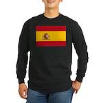 Spain Long Sleeve Dark T-Shirt