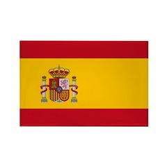 Spain Rectangle Magnet