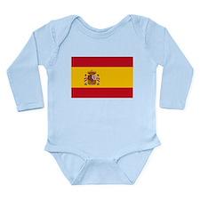 Spain Long Sleeve Infant Bodysuit
