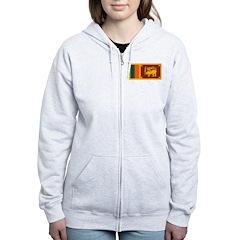 Sri Lanka Zip Hoodie