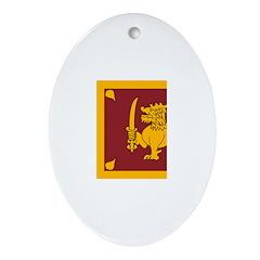 Sri Lanka Ornament (Oval)