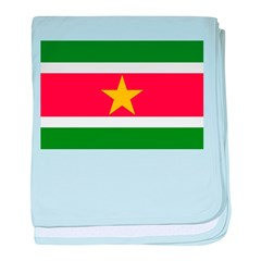 Suriname baby blanket