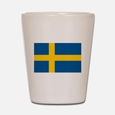 Sweden Shot Glass