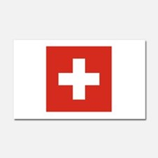 Switzerland Car Magnet 20 x 12
