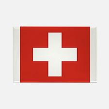 Switzerland Rectangle Magnet (100 pack)