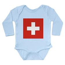 Switzerland Long Sleeve Infant Bodysuit