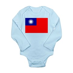 Taiwan Long Sleeve Infant Bodysuit