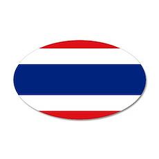 Thailand 22x14 Oval Wall Peel