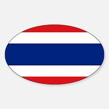Thailand Sticker (Oval)