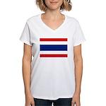 Thailand Women's V-Neck T-Shirt