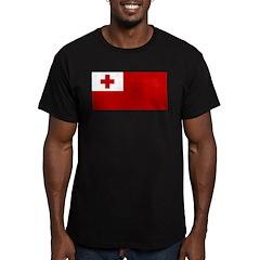 Tonga Men's Fitted T-Shirt (dark)