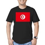 Tunisia Men's Fitted T-Shirt (dark)