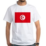 Tunisia White T-Shirt