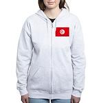 Tunisia Women's Zip Hoodie