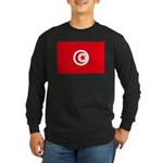 Tunisia Long Sleeve Dark T-Shirt
