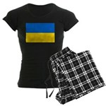 Ukraine Women's Dark Pajamas