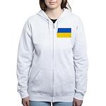 Ukraine Women's Zip Hoodie