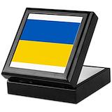 Ukrainian Square Keepsake Boxes