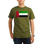 United Arab Emirates Organic Men's T-Shirt (dark)
