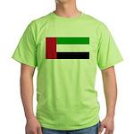 United Arab Emirates Green T-Shirt