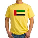 United Arab Emirates Yellow T-Shirt