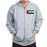 United Arab Emirates Zip Hoodie