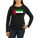 United Arab Emirates Women's Long Sleeve Dark T-Sh