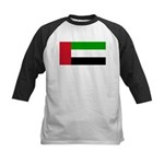 United Arab Emirates Kids Baseball Jersey