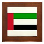 United Arab Emirates Framed Tile