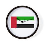 United Arab Emirates Wall Clock