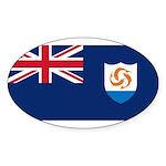 Anguilla Sticker (Oval 50 pk)