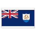 Anguilla Sticker (Rectangle)