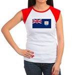 Anguilla Women's Cap Sleeve T-Shirt