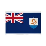 Anguilla Rectangle Magnet (10 pack)