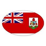 Bermuda Sticker (Oval 10 pk)