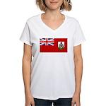 Bermuda Women's V-Neck T-Shirt